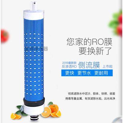 直饮1812/2012-100G加仑反渗透RO膜家用净水器纯水机滤芯侧流膜