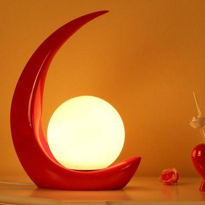 简约现代个性床头灯创意结婚艺术温馨浪漫时尚调光装饰卧室台灯