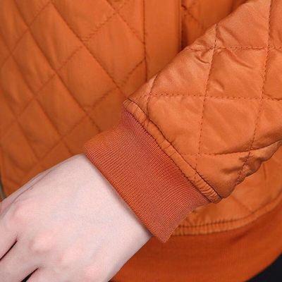 妈妈装冬装轻薄短款小棉衣中年女大码棉服中老年女装秋装夹克外套
