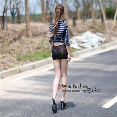 新款露脐弹力超短迷你性感百褶裙齐屁低腰日系学生J短裙小裙子半