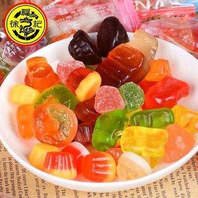 徐福记橡皮糖200g混合果汁QQ软糖办公室零食儿童糖果特价批发