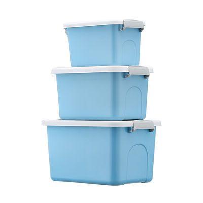 36765/收纳箱塑料特大号小号储物箱加厚衣服玩具收纳盒车载家用整理箱子