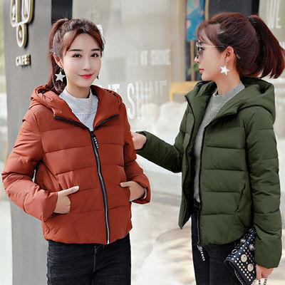 短款棉服女2019新款秋冬装ins棉衣冬季女士外套反季学生羽绒棉袄