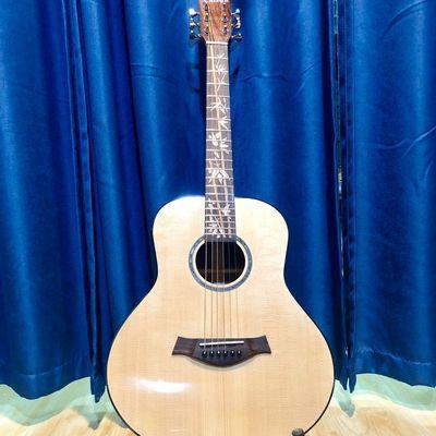 mini36寸全单吉他 旅行吉他 儿童弹唱吉他 演出民谣电箱吉他