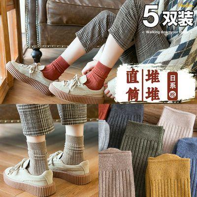 不起球不臭脚】袜子女学生韩版可爱条纹透气短袜女生春夏秋冬船袜