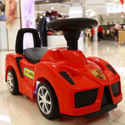 新款法拉利多功能儿童扭扭车1-3岁宝宝滑行车四轮带音乐溜溜玩具