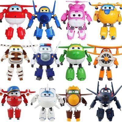 爆款乐迪超级飞侠玩具套装全套大号变形飞侠玩具多多酷雷酷飞包警