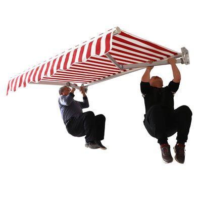雨棚遮阳棚折叠伸缩伞式挡遮户外屋檐阴汽车子防晒阳台窗户伞雨篷