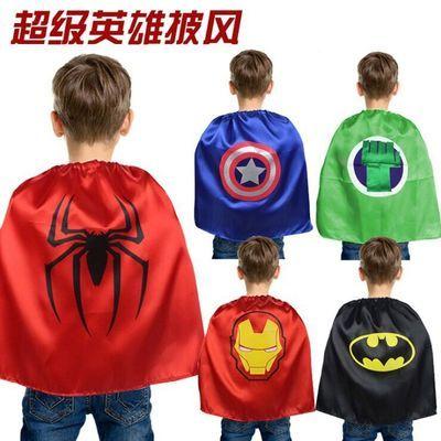 万圣节儿童服装男女童套装服饰披风斗篷衣服道具玩具蜘蛛侠演出服