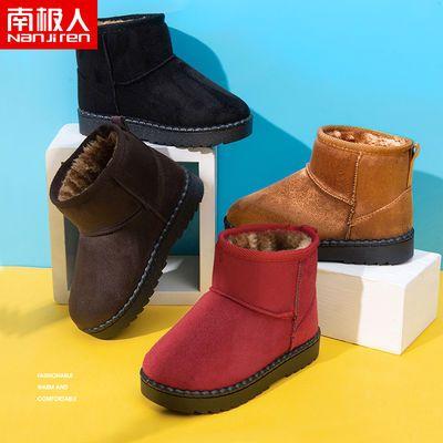 男宝女宝雪地靴冬季1-2-3-5岁女宝宝二棉鞋幼童冬鞋冬靴儿童棉靴