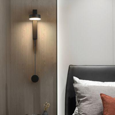 北欧现代旋转壁灯LED简约设计客厅过道走廊卧室床头灯阅读装饰灯