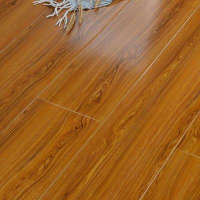 品圣12mm强化复合木地板 高密度基材封蜡防水耐磨防烟头 明星代言