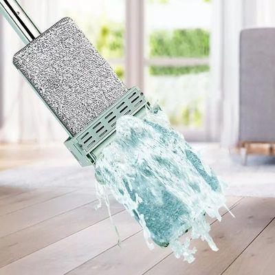 【加粗加大】免手洗平板拖把家用旋转拖把拖地神器懒人地拖墩布拖