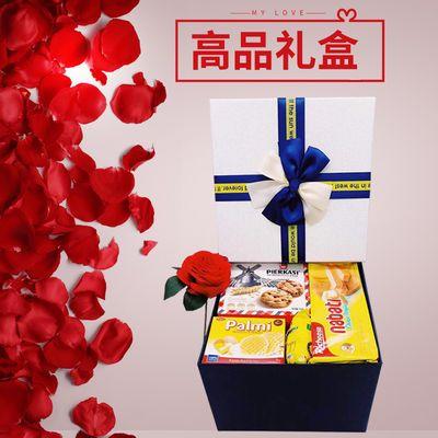 发货一整箱生日礼物进口日本韩儿童女友送女生混合进口零食大礼包