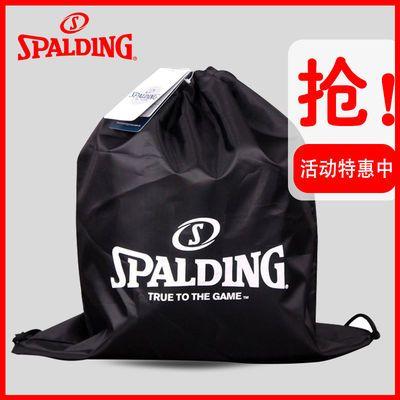 斯伯丁正品篮球包袋足球包排球包多功能双肩束口简易球袋训练包袋