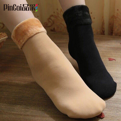 抖音同款3-10双光腿神器袜子女雪地袜地板袜秋冬加绒加厚袜子保暖