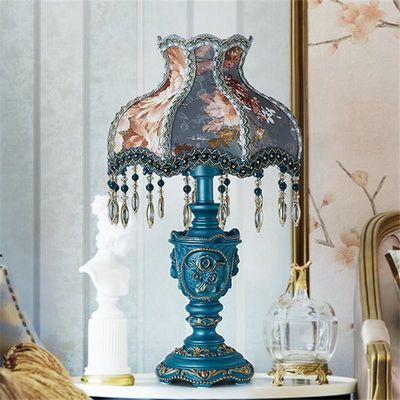 欧式台灯卧室床头灯简约现代浪漫温馨可调光婚庆结婚婚房奢华高档