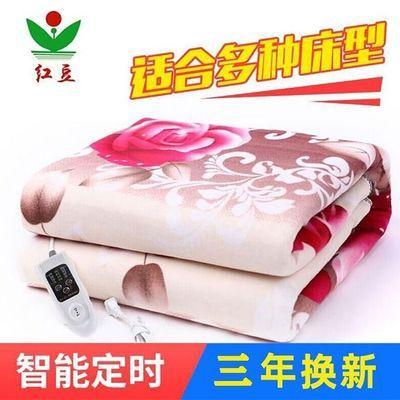 红豆电热毯双人双控安全无辐射家用防水1.8米2米加大加厚电褥子