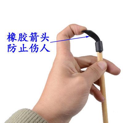 竹质儿童玩具弓箭/吸盘弓/十字弓带3支箭/橡胶箭头仿真包邮【2月28日发完】