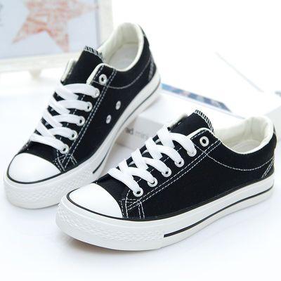 帆布鞋女男韩版情侣款球鞋学生1970S布鞋平底经典板鞋休闲运动鞋