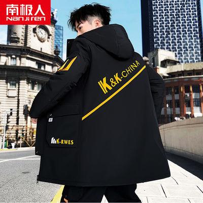 加厚冬季棉衣男韩版中长款外套棉袄冬天男装棉服袄子