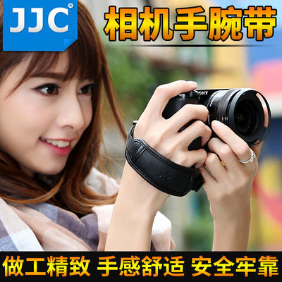JJC微单相机手腕带索尼A7M3 A7R3 A7R2 a6300 A6400富士奥林巴斯