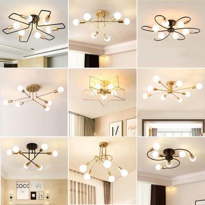 北欧卧室灯led吸顶灯简约现代创意个性大气家用餐厅书房客厅灯具