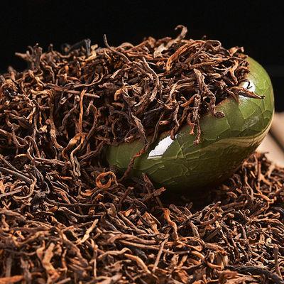 云南普洱茶熟茶散茶普洱茶熟茶金芽醇香散熟茶250g-500g促销装