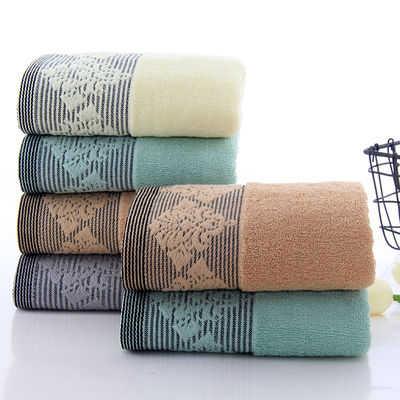 3/4条装毛巾纯棉柔软吸水加厚洗澡洗脸面巾成人家用舒适毛巾