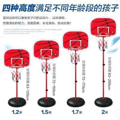 篮球架家用落地式室内外男孩篮球板成人可升降架儿童训练框支架式