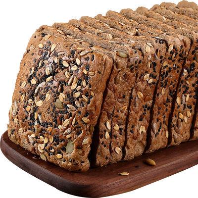 【刷脂代餐】全麦粗粮杂粮土司面包糕点刷脂代餐休闲食品整箱批发