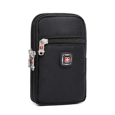 男士腰包手机包零钱包手拿包帆布穿皮带5.7寸6.5挂包瑞士军刀促销