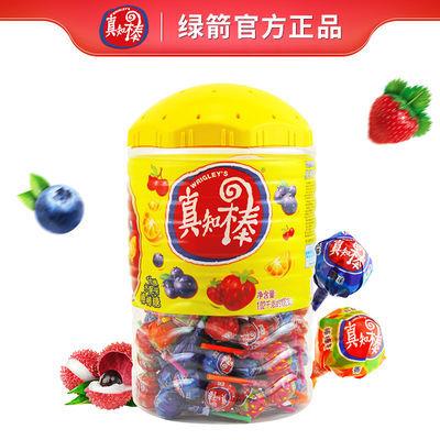 真知棒棒棒糖约108支大桶混合口味礼盒糖果批发超值儿童零食礼包