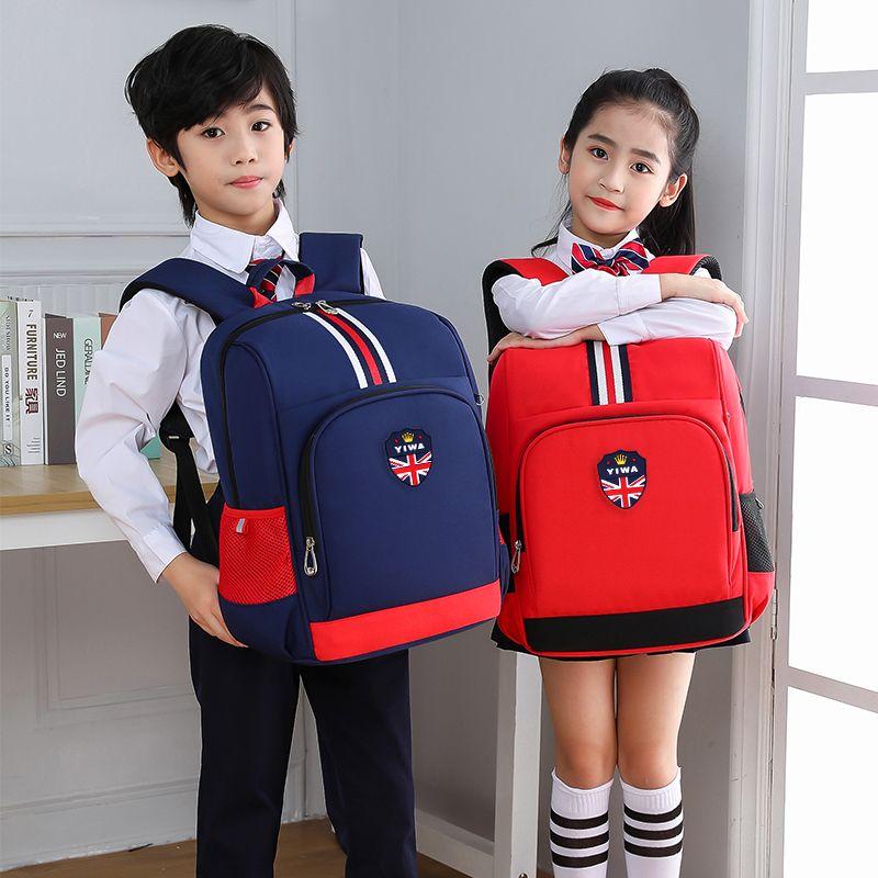 韩版小学生书包男1-3-6年级轻便减负4-6-12周岁儿童书包女双肩包