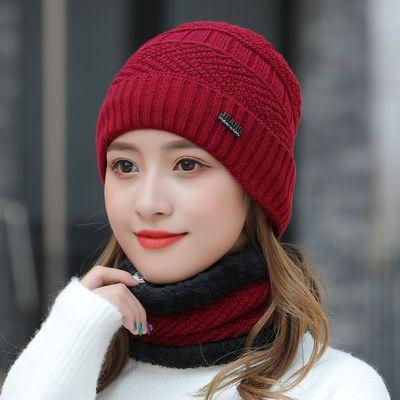 薄款套头保暖帽睡帽产妇月子帽包头帽子女士秋冬季韩版针织套头帽