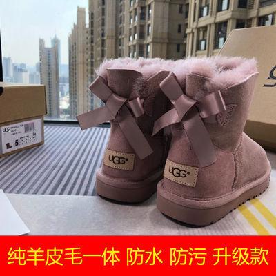 【羊毛一体】UGG雪地靴冬季新款女经典迷你贝莉蝴蝶结羊毛保暖靴
