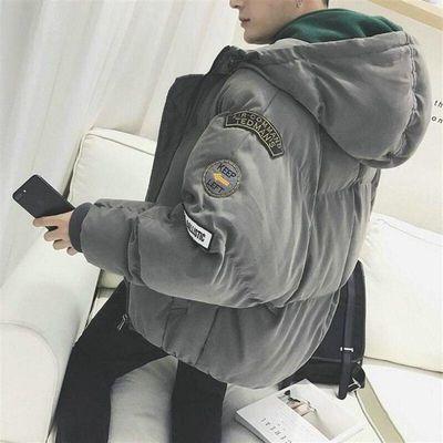 冬季棉衣外套男士2019新款衣服韩版潮流工装帅气学生男装羽绒棉服