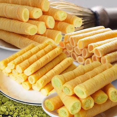 【超值228支】4口味夹心鸡蛋卷饼干食品香酥网红蛋卷零食批发24支