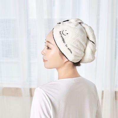 韩式干发帽 网红同款爱心速干发帽 洗头速干吸水毛巾帽子可爱浴帽