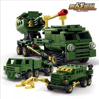乐高荒野行动开智坦克飞机我的世界玩具男孩10岁开发智力益智拼装