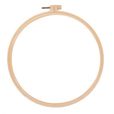 仿竹刺绣绷框十字绣绣圈架子绷子工具圆形绣架撑子绷绣花架固定圈