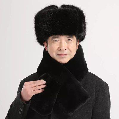 雷锋帽中老年人东北男士冬季加厚军帽爷爷老头老人护耳棉帽爸爸帽