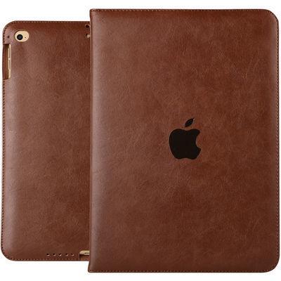 苹果iPad Air2保护套超薄防摔mini2全包边壳ipad3456休眠皮套