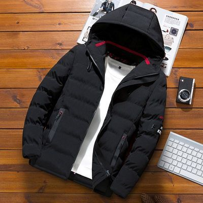 男士外套冬季新款棉衣潮流韩版短款加厚保暖羽绒棉服秋冬男装棉袄