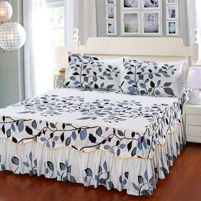 涵羞草家纺【三件套】韩式床裙单件床罩床单席梦思床罩床盖床笠【3月1日发完】
