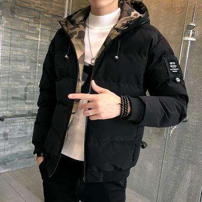 棉衣男士外套2019冬季新款男装加厚短款棉服韩版潮流青年冬装棉袄