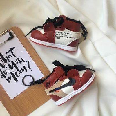 乔牌迷你鞋子移动电源AJ1球鞋充电宝香港潮牌手机通用8000毫安【2月29日发完】