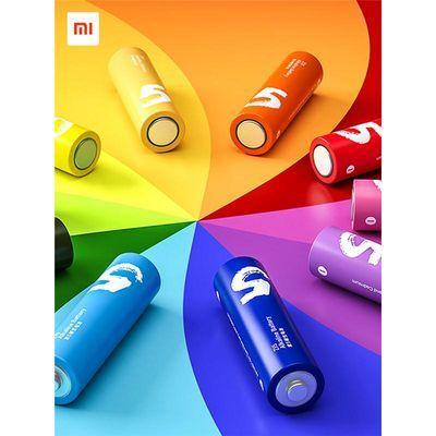 小米彩虹电池5号碱性干电池五号家用遥控器汽车儿童玩具10粒装鼠