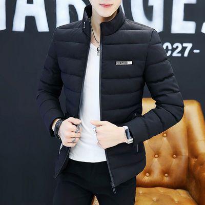 男士棉衣外套冬季短款百搭棉袄子青年韩版修身加厚立领棉服男装潮