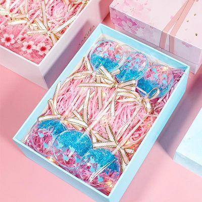 创意星空水晶海洋樱花糖高颜值网红棒棒糖零食送男女朋友生日礼物